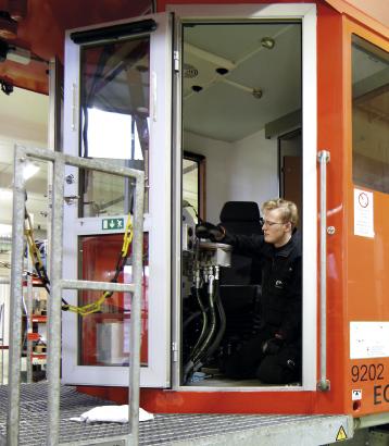 Uppdrag SL – Driftsäkra arbetsmaskiner