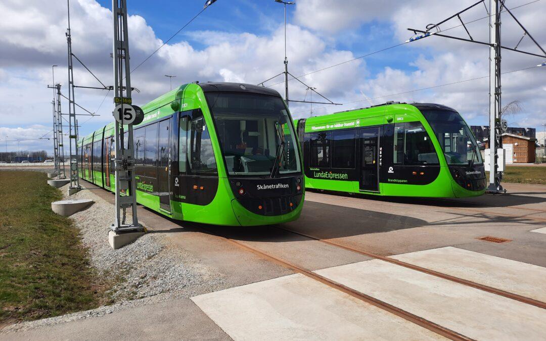 Idag sker invigningen av spårvägen i Lund!