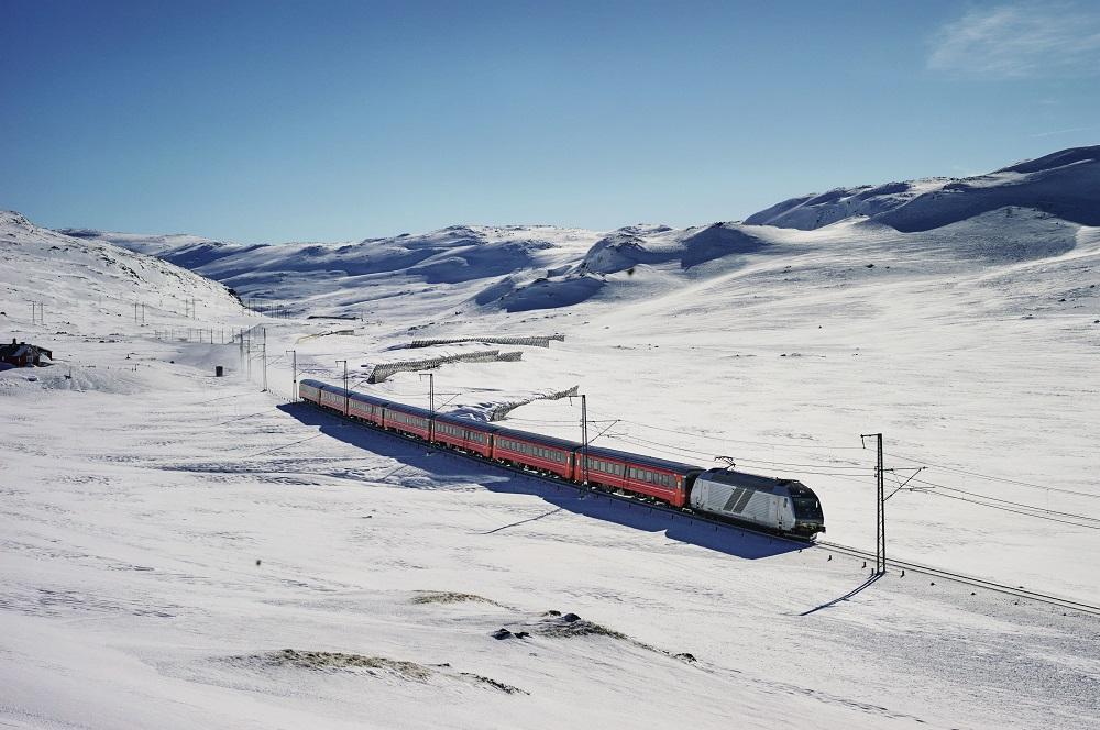 Nu underhåller vi Norges mest profilerade tågsträcka!